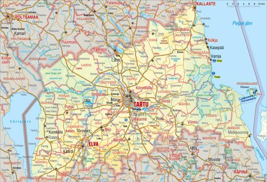 04bccc3fb04 Tartu maakond - Eesti Entsüklopeedia